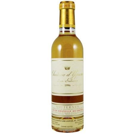 Château d'Yquem Sauternes Sémillon-Sauvignon Blanc Blend 1996 (375ml)