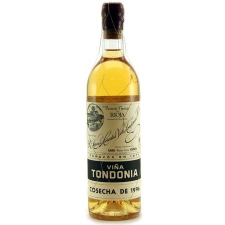 R. López de Heredia Viña Tondonia Reserva Rioja Blanco Malvasia Viura 1996