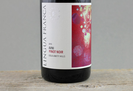 Lingua Franca Avni Pinot Noir 2015