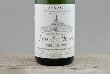 Trimbach Clos Ste. Hune Alsace Riesling 1996