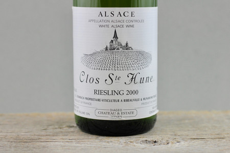 Trimbach Clos Ste. Hune Alsace Riesling 2000