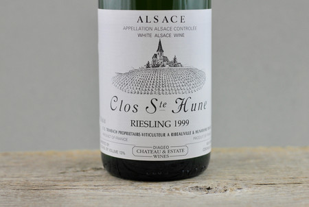 Trimbach Clos Ste. Hune Alsace Riesling 1999
