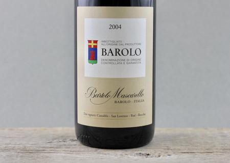 Cantina Bartolo Mascarello Barolo Nebbiolo 2004