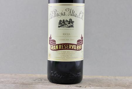 La Rioja Alta Gran Reserva 890 Rioja Tempranillo Blend 2004