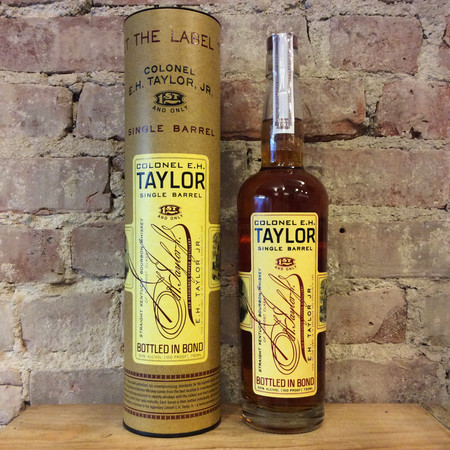 Colonel E.H. Taylor Jr. Single Barrel Straight Kentucky Bourbon Whiskey NV