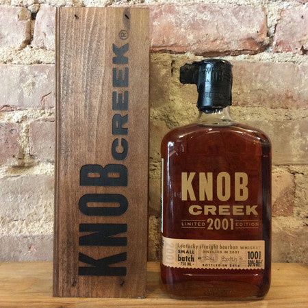 Knob Creek Smoked Maple Small Batch Kentucky Straight Bourbon 2001