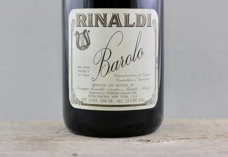 Giuseppe Rinaldi Cannubi S. Lorenzo Ravera Barolo Nebbiolo 2004 (1500ml)