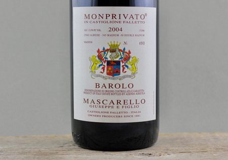 Giuseppe E Figlio Mascarello Monprivato di Castiglione Falletto Barolo Nebbiolo 2004 (1500ml)