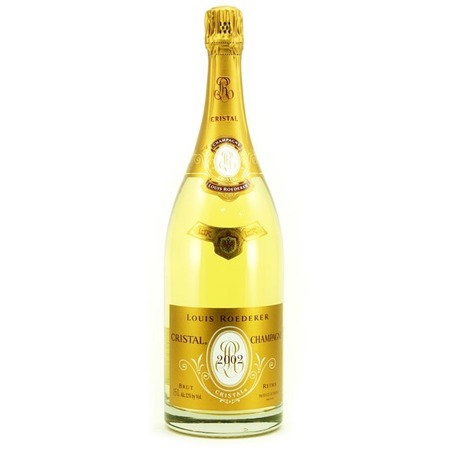 Louis Roederer Cristal Brut Champagne Chardonnay Pinot Noir Blend 2002 (1500ml)