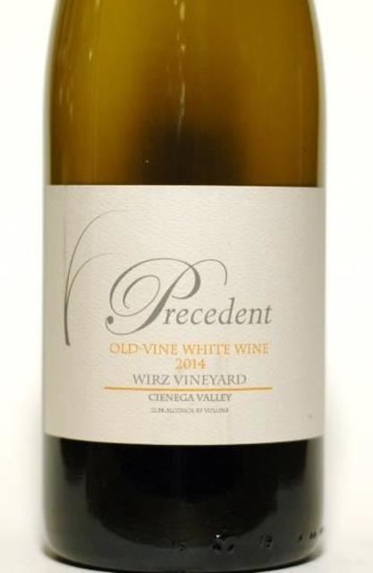 Precedent Wirz Vineyard Old-Vine White Blend 2014