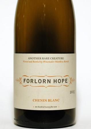 Forlorn Hope Rorick Family Vineyard Chenin Blanc 2015