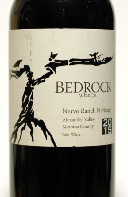 Bedrock Wine Co. Nervo Ranch Heritage Red Blend 2015