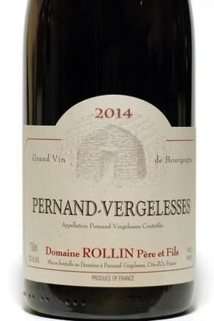 Domaine Rollin Père et Fils Pernand-Vergelesses Pinot Noir 2014