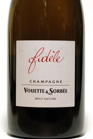 Vouette et Sorbée Fidéle Extra Brut Blanc de Noirs Champagne Pinot Noir 2014