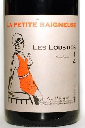 La Petite Baigneuse Les Loustics Maury Grenache 2014