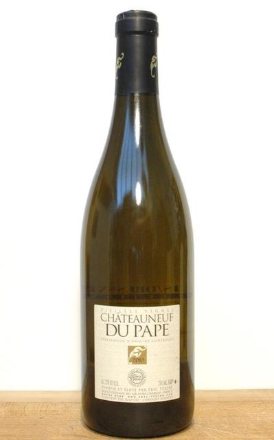 Éric Texier Vieilles Vignes Châteauneuf-du-Pape White Rhone Blend 2015