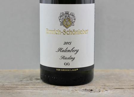 Emrich-Schönleber Halenberg GG Riesling  2015