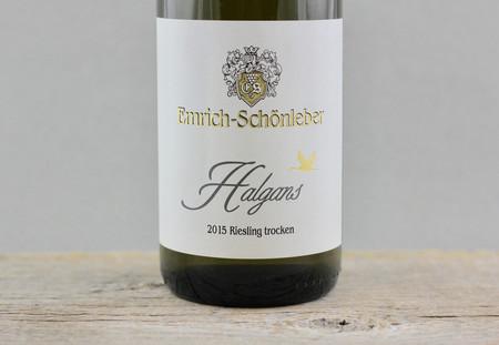 Emrich-Schönleber Halgans Trocken Riesling 2015