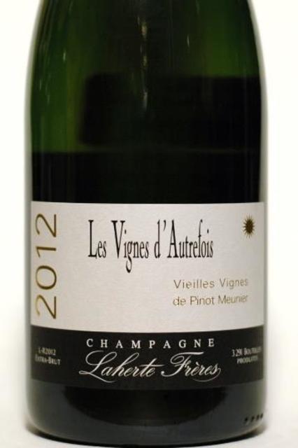Laherte Frères Les Vignes d'Autrefois Vieilles Vignes Extra Brut Champagne Pinot Meunier 2012