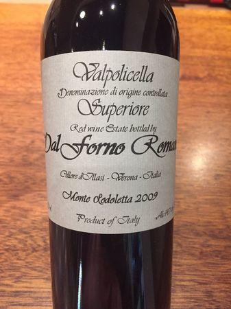 Romano Dal Forno Valpolicella Superiore Corvina Blend 2009