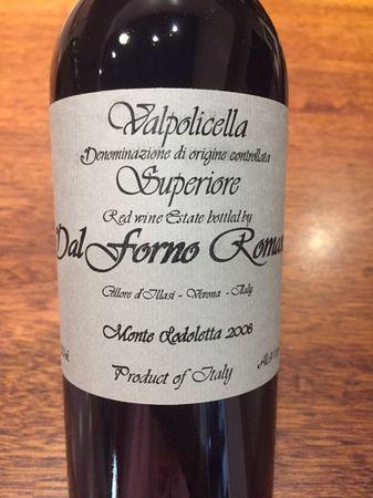 Romano Dal Forno Valpolicella Superiore Corvina Blend 2008