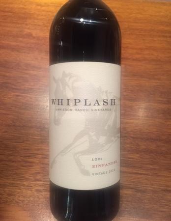 Whiplash Wines Lodi Zinfandel 2014