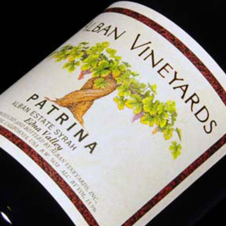 Alban Vineyards Patrina Alban Estate Syrah 2013