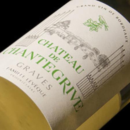 Château de Chantegrive Graves Red Bordeaux Blend 2012