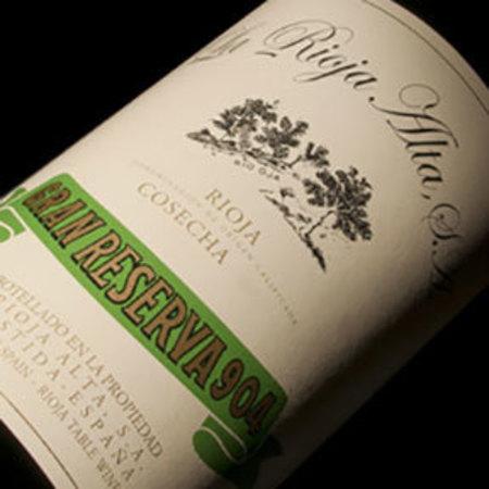 La Rioja Alta Gran Reserva 904 Rioja Tempranillo Graciano 1997