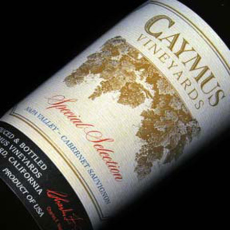 Caymus Vineyards Special Selection Napa Valley Cabernet Sauvignon 2013