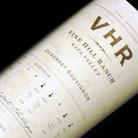 Vine Hill Ranch VHR Oakville Cabernet Sauvignon 2012