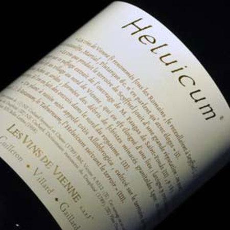 Les Vins de Vienne (Cuilleron Gaillard Villard) Heluicum  Vin de Pays des Collines Rhodaniennes Syrah 2012