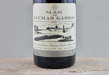 Daumas Gassac Mas de Daumas Gassac Vin de Pays de l'Hérault Red Bordeaux Blend 2005