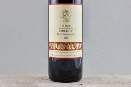 Vignalta Rosso Riserva Colli Euganei Cabernet Sauvignon Merlot 2012