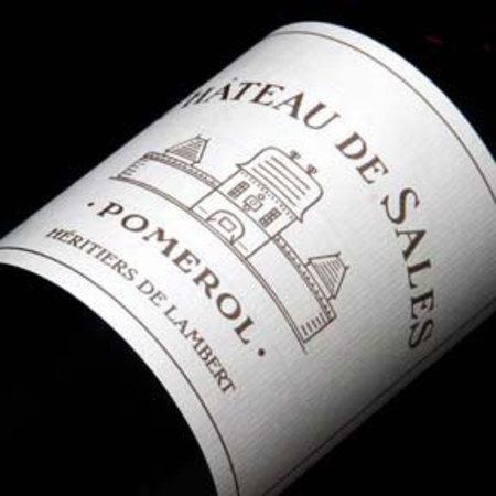 Château de Sales Héritiers de Lambert Pomerol Red Bordeaux Blend 2008