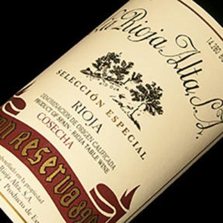 La Rioja Alta Gran Reserva 890 Rioja Tempranillo Blend 2004 (1500ml)