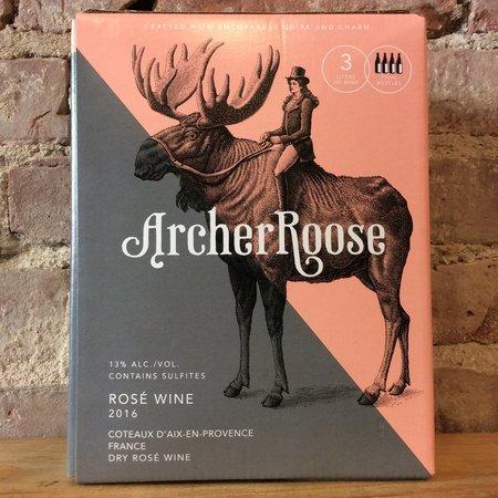 Archer Roose Coteaux d'Aix-en-Provence Rosé Blend 2016 (3000ml)