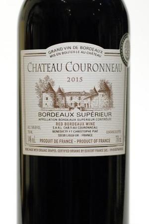 Chateau Couronneau Bordeaux Supérieur Red Bordeaux Blend 2015