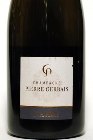 Pierre Gerbais L'Audace Brut Nature Blanc de Noirs Champagne Pinot Noir NV