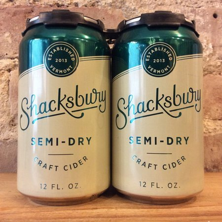 Shacksbury Semi Dry Craft Cider 2014 (355ml)
