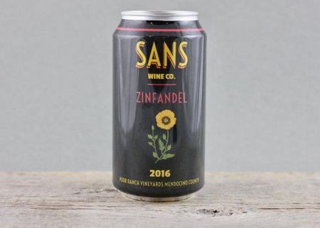 Sans Wine Co. Poor Ranch Vineyards Zinfandel 2016 (375ml)
