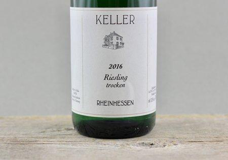 Weingut Keller Rheinhessen Trocken Riesling 2016