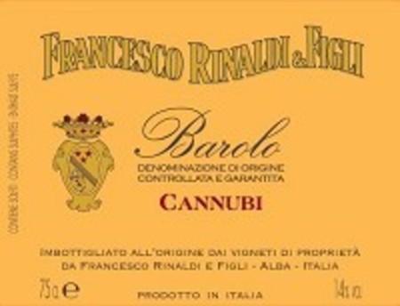 Francesco Rinaldi e Figli Cannubi Barolo Nebbiolo 2013