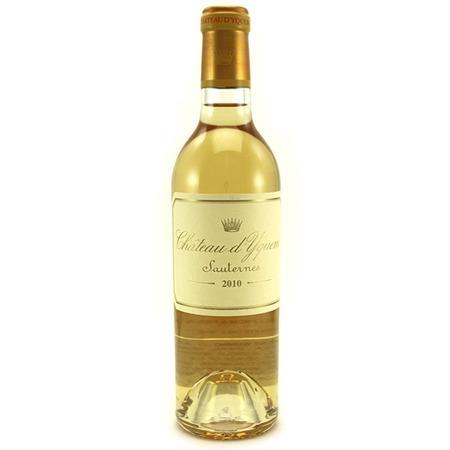 Château d'Yquem Sauternes Sémillon-Sauvignon Blanc Blend 2010 (375ml)