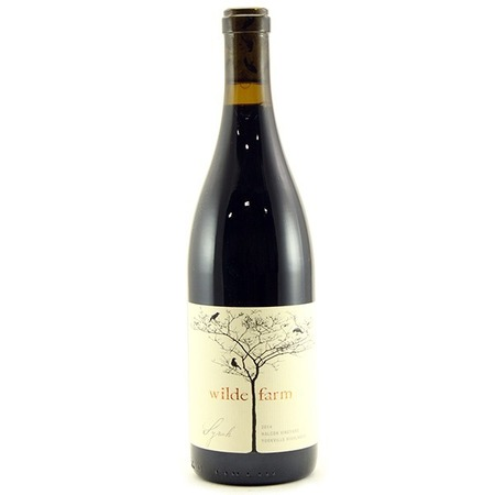 Wilde Farm Halcon Vineyard Syrah 2014
