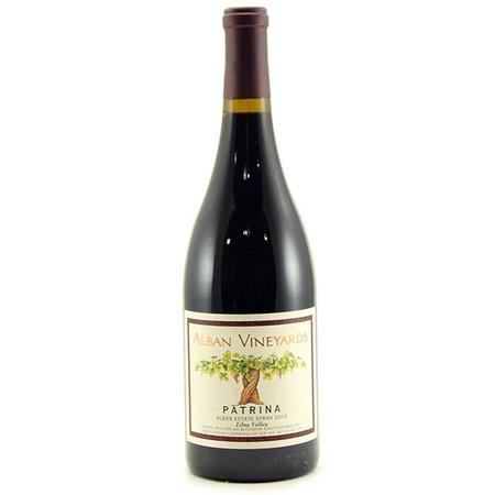 Alban Vineyards Patrina Alban Estate Syrah 2013