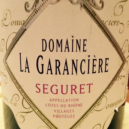 Clos du Joncuas Domaine La Garancière Séguret Clairette Blend 2016