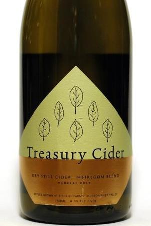 Treasury Cider Dry Still Cider Heirloom Blend 2015