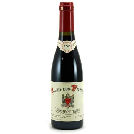 Clos des Papes Châteauneuf-du-Pape Red Rhône Blend 2003 (375ml)