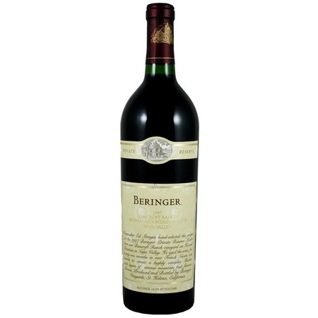 Beringer Vineyards Private Reserve Napa Valley Cabernet Sauvignon 1997